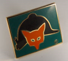 Fox Hunting Pin